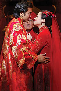 Jose Llana and Lea Salonga in <i>Flower Drum Song</i>.