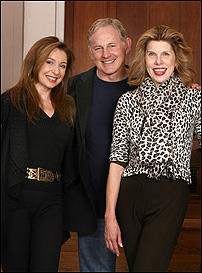 <I>Follies</I> co-stars Donna Murphy, Victor Garber and Christine Baranski.