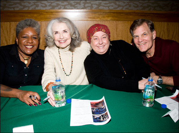 Terri White, Mary Beth Peil, Jayne Houdyshell and Michael Hayes