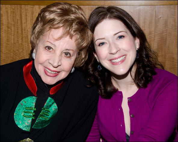 Rosalind Elias and Leah Horowitz