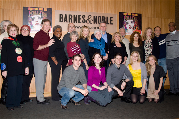 Stephen Sondheim and cast