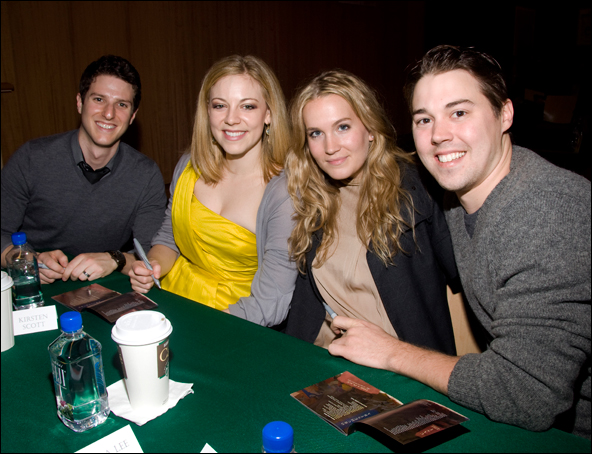 Nick Verina, Kirsten Scott, Lora Lee Gayer and Christian Delcroix