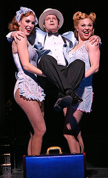 Emily Fletcher, Michael McGrath and Kristen Beth William in the 2007 City Center Encores! production.