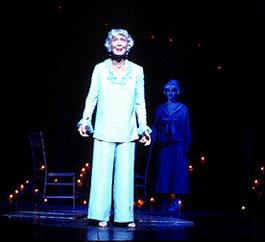 Betty Garrett in the 2001 Broadway revival.