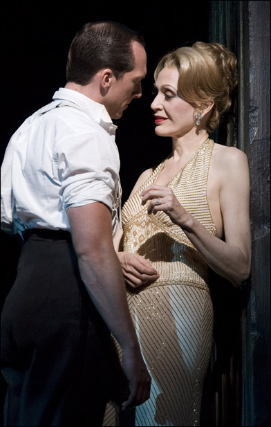 Clifton Samuels and Jan Maxwell