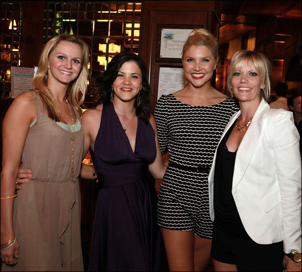 Leslie Donna Flesner, Sara Edwards, Amanda Kloots-Larsen and Jenifer Foote
