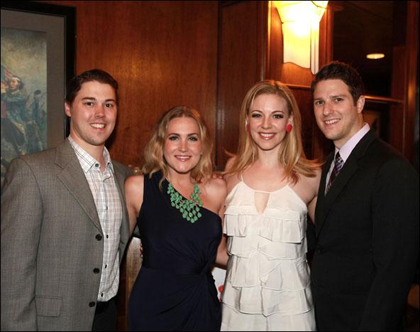 Christian Delcroix, Lora Lee Gayer, Kirsten Scott  and Nick Verina