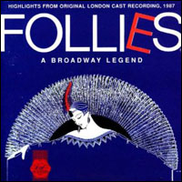 Cover art for the 1987 London cast album