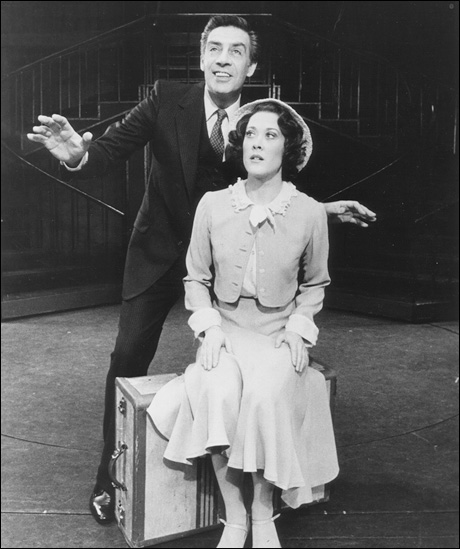 Jerry Orbach and Karen Ziemba in 42nd Street