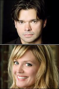 Hunter Foster and Elizabeth Stanley