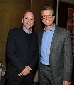 Kiefer Sutherland and Kevin Reilly