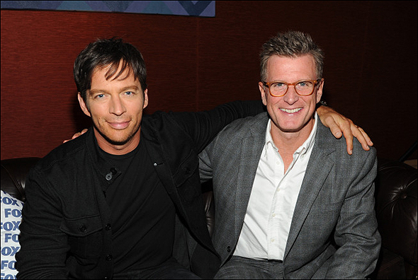 Harry Connick Jr. and Kevin Reilly