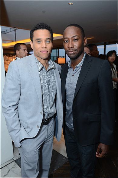 Michael Ealy and Lamorne Morris