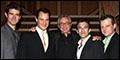 Photo Archive: Matt Bogart, Drew Gehling, Jarrod Spector, Jeremy Kushnier and Bob Gaudio Visit Frank