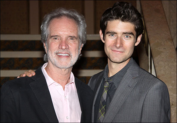 Bob Gaudio and Drew Gehling