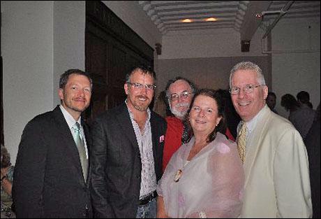 Tyler Marchant, producer Robert Stillman, Mark St. Germain, producer Carolyn Rossi Copeland and producer Jack Thomas