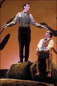 A scene from the Broadway production of <i>A Year with Frog and Toad</i>