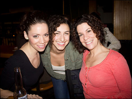 Our beautiful choreographer Lorna with Katie Hagen & Lisa Finegold. Watching each of these ladies dance is breathtaking!