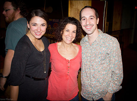 Stephanie, Lorna & Blakely (whose hilarious characters are reasons #11 & #23 to see FROG KISS).