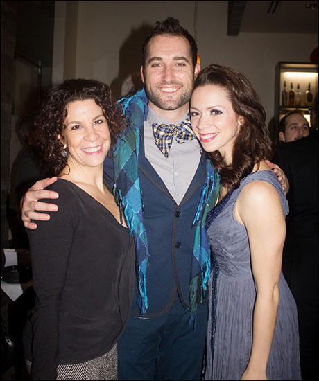 Lorna Ventura with Eric Stretch and Katie Hagen.