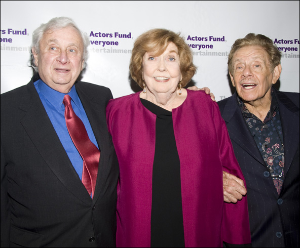 David Steiner, Anne Meara and Jerry Stiller