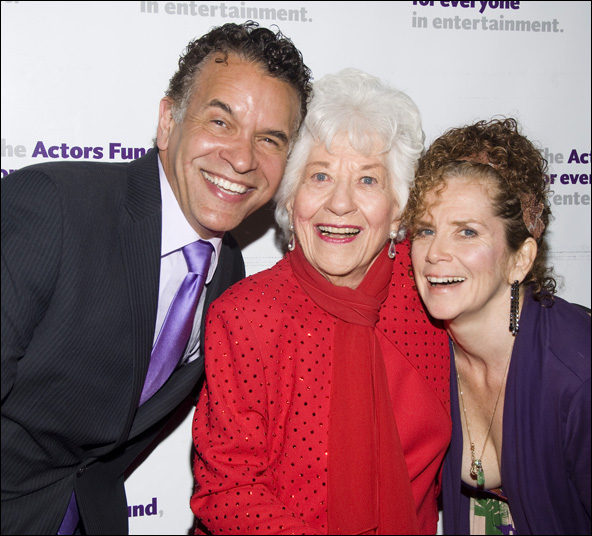 Brian Stokes Mitchell, Charlotte Rae and Amy Stiller