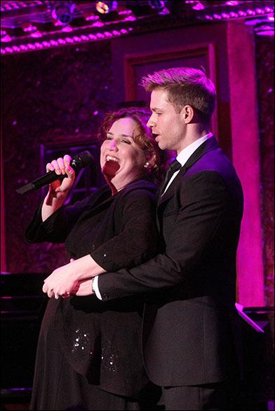 Donna Lynne Champlin and Hunter Ryan Herdlicka