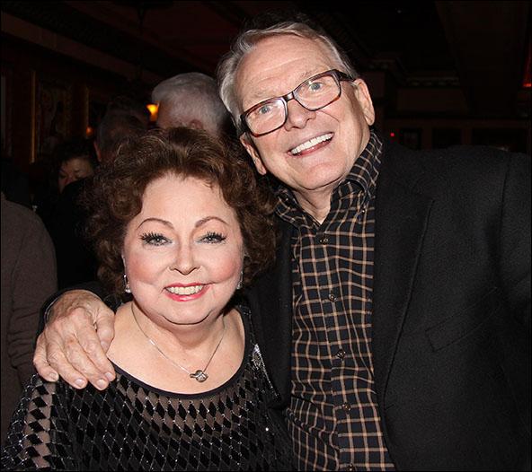 Mimi Hines and Bob Mackie