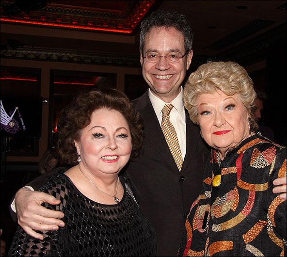 Mimi Hines, Mark Sendroff and Marilyn Maye