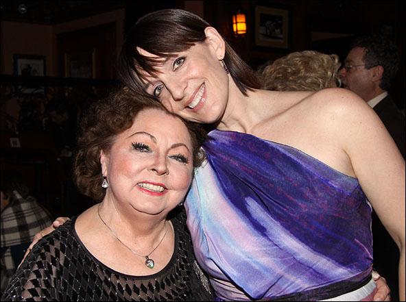 Mimi Hines and Julia Murney