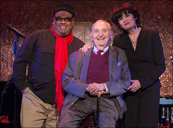 Stew, Fyvush Finkel and Beth Leavel