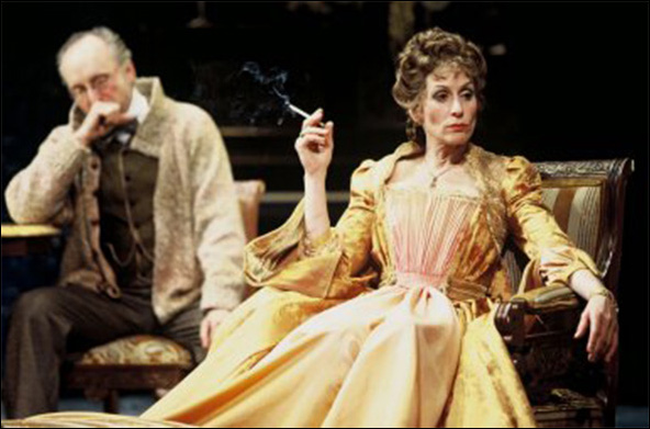 Michael Rudko and Judith Light in the Shakespeare Theatre Company production Hedda Gabler.