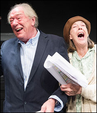 Michael Gambon and Eileen Atkins in <i>All That Fall</i>.