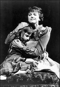 Daisy Eagan and Alison Fraser in <em>The Secret Garden</em>.