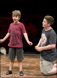 Gaten Matarazzo and Danny Ward