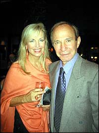 Ben Gazzara, with his wife.