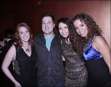 Jenny Leon (director), Matt Hinkley (music director), Arielle Jacobs and Lexi Lawson