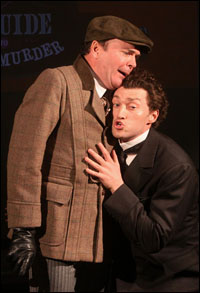 Jefferson Mays and Bryce Pinkham