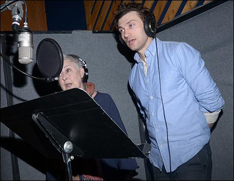Jane Carr and Bryce Pinkham
