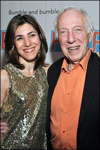 Jenny Gersten with Bernard Gersten