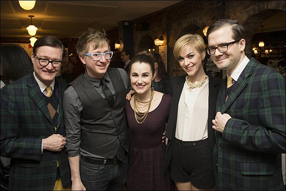 Andrew Andrew, Lauren Worsham, Lisa O'Hare and Kyle Jarrow