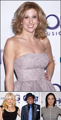 Caissie Levy; guests Megan Hilty, Ben Vereen and Eden Espinosa