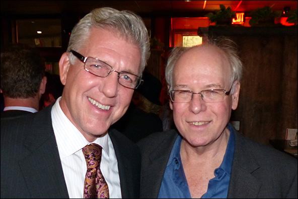 Producer Randy Buck and Bruce Joel Rubin