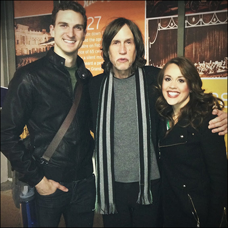 Katie & I with our composer, Glen Ballard, who came to visit us in New Orleans! Such a great man, so glad to meet him.