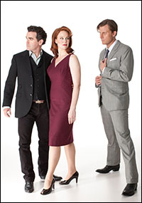 Brian d'Arcy James, Kate Baldwin and P.J. Griffith