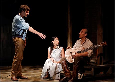 Bobby Steggert, Natalie Cortez and Raul Aranas