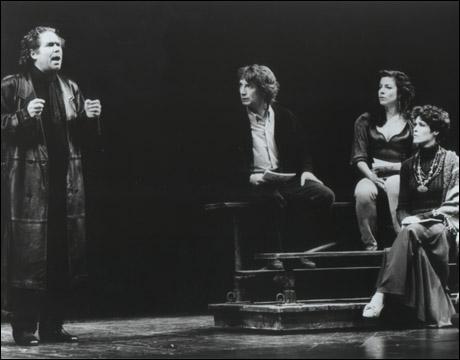 John Christopher Jones, Martin Short, Denis Faye and Nancy Hess in The Goodbye Girl
