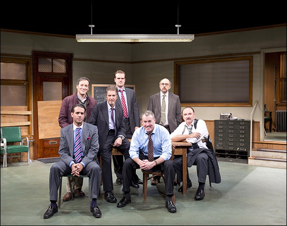 Glengarry Glen Ross opened Dec. 8 at the Gerald Schoenfeld Theatre
