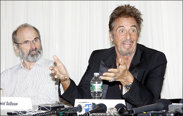 Daniel Sullivan and Al Pacino