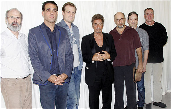 Daniel Sullivan, Bobby Cannavale, David Harbour, Al Pacino, Richard Schiff, Jeremy Shamos and John C. McGinley